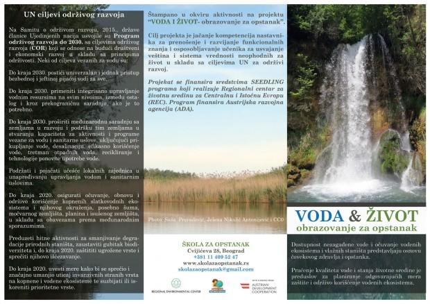 Voda i život